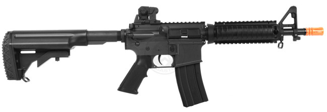 JG M4 CQB Short Barrel Metal Gearbox AEG Airsoft Rifle
