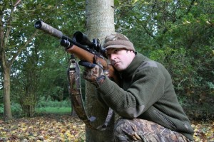 Air gun hunting